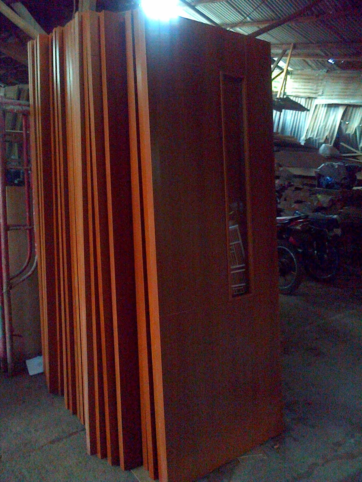 Pintu Double Teakwood