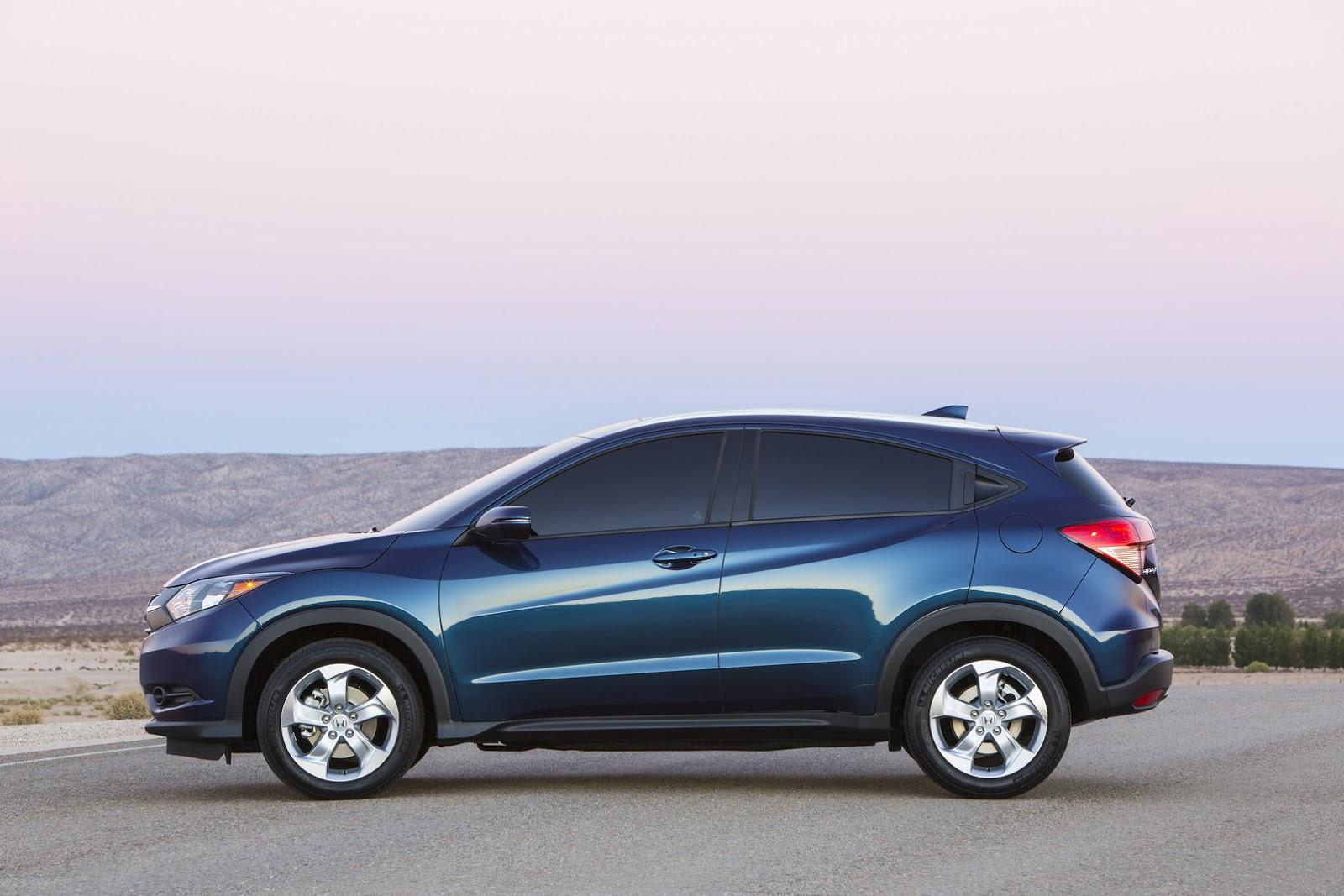 New 2016 Honda Hr V Enters Small Crossover Segment Gets A