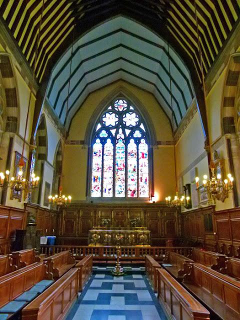 Balliol, Chapel, St Catherine of Alexandria, patron saint of the College