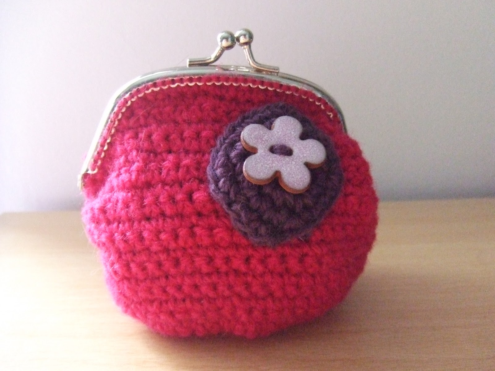 Crafting With Mel: Cotton and Cloud Crochet Purse Kit