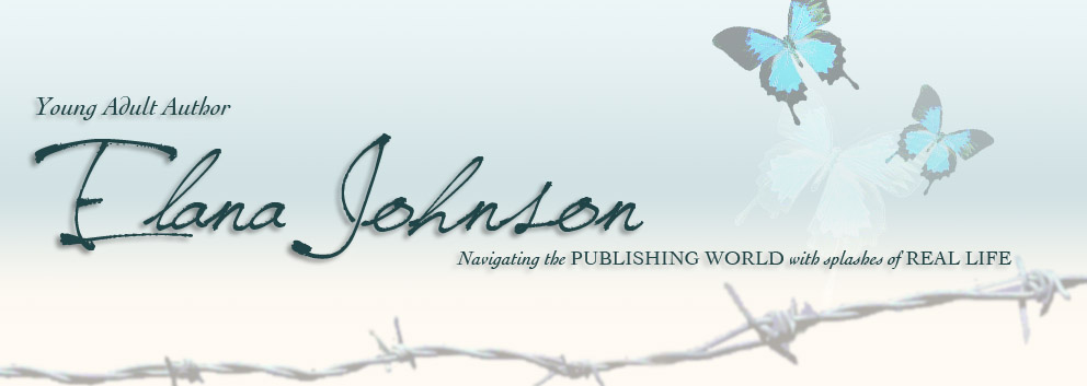 YA Author Elana Johnson