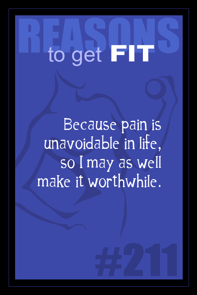 365 Reasons to Get Fit #211