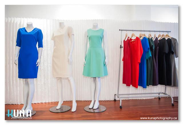 helenjean summer dresses on mannequins