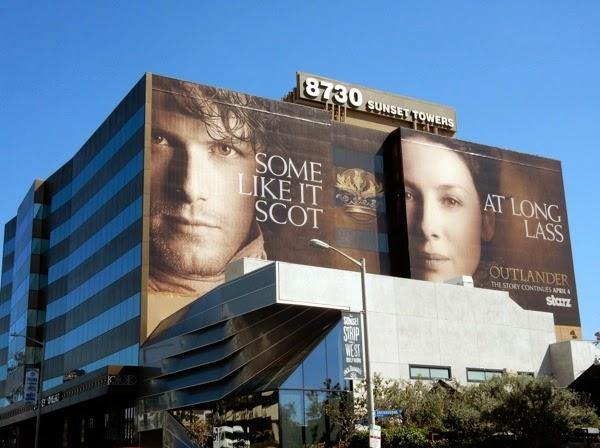 Outlander Some like it Scot At Long Lass billboard