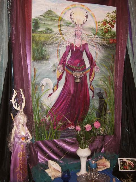 La Voie de la Déesse : le chemin de la prêtresse vers Avalon
