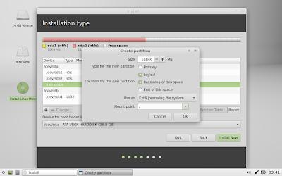 Langkah Mudah Membuat Multi Boot Windows Ubuntu Dan Linux Mint