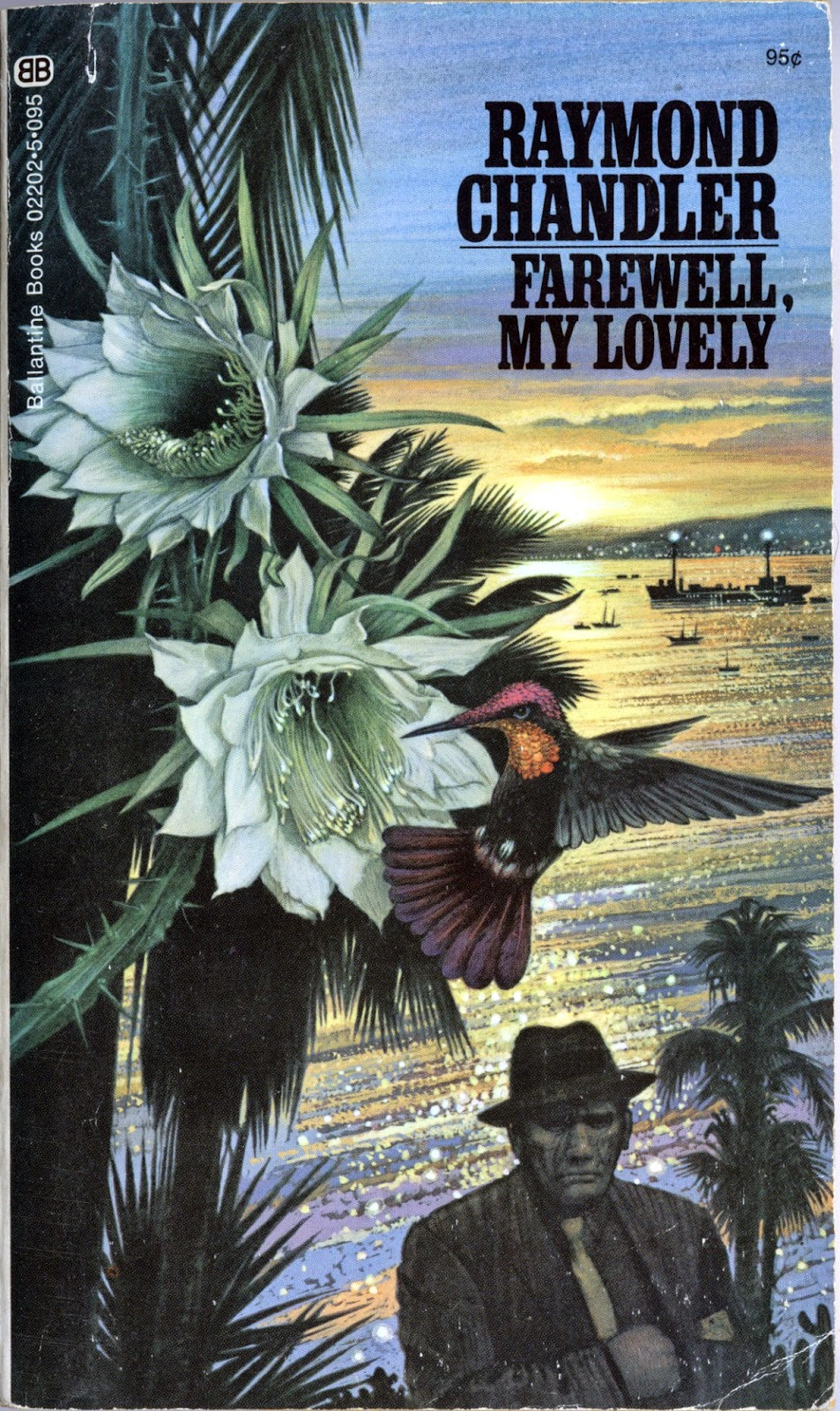 Farewell My Lovely cover art by Tom Adams