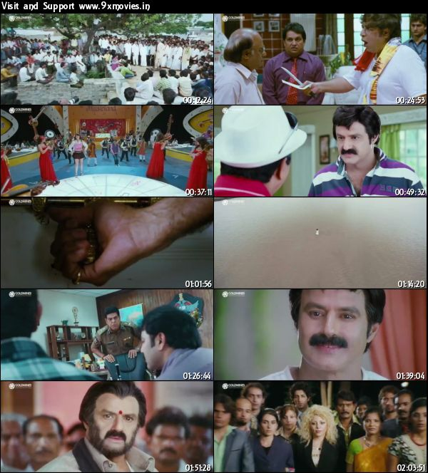 The Action Man Adhinayakudu 2015 Hindi Dubbed 480p HDRip