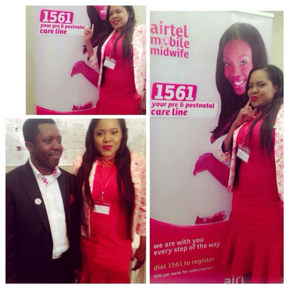 Toyin Aimakhu Now Vas2Net Airtel Brand Ambassador