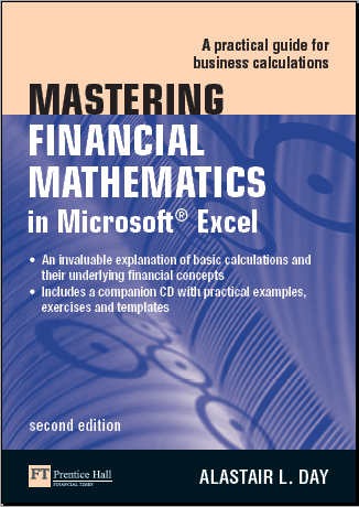finance courses Mastering Financial Mathematics  in Microsoft  Excel