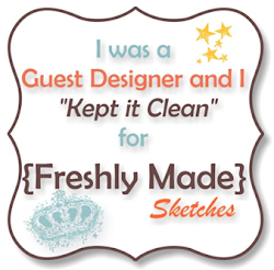 Freshly Made Sketches Guest Designer