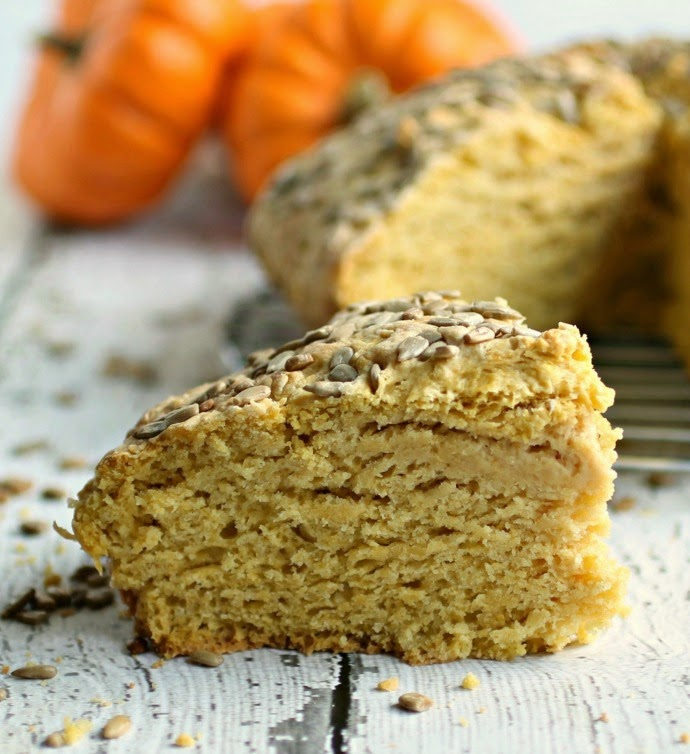 Pumpkin Soda Bread