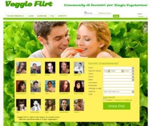 Veggieflirt.com è il portale di incontri online per Vegetariani