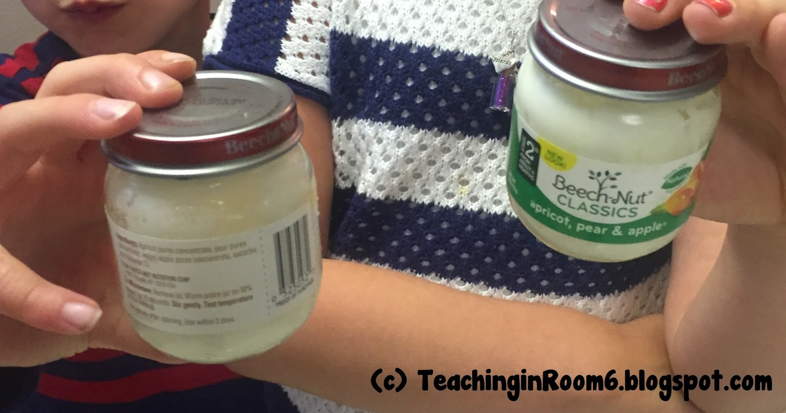 Physical science in a 5th grade class by making butter!