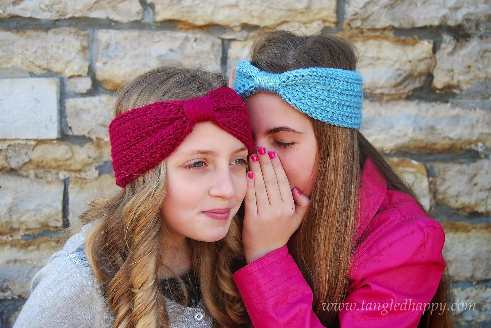 tangled happy: Wrapped Headband {Free Crochet Pattern}