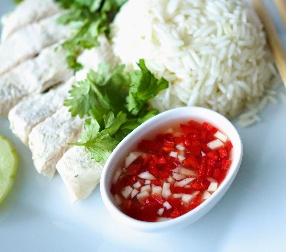 Hainanilainen kana ja riisi