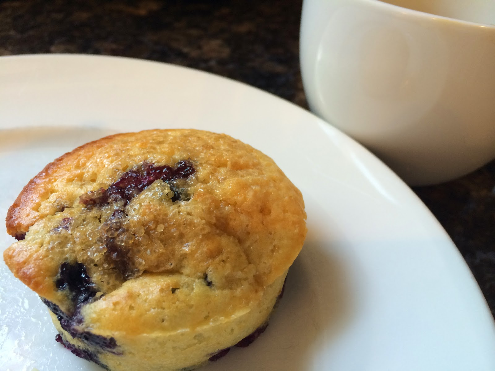 Blueberry Muffins from Food Therapy