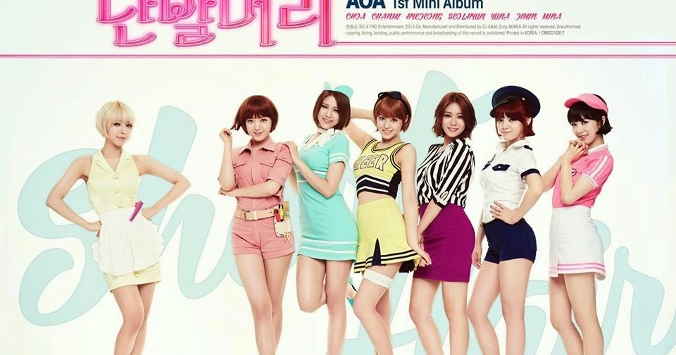 Lots Of Girl Stuff Aoa Short Hair Mv Makeup 에이오에이 단발