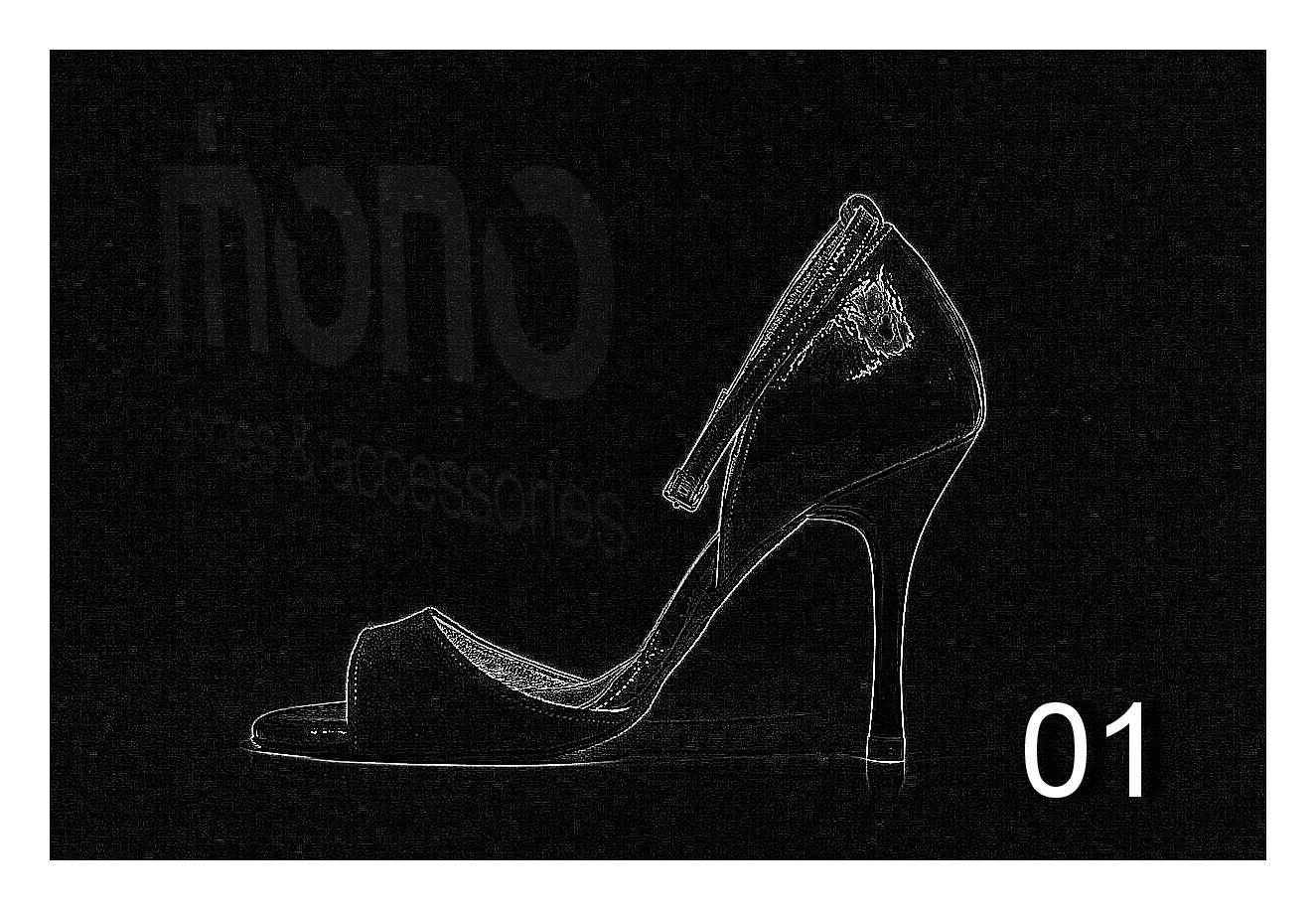 My Tango Shoes By Mono Lady Mono Tango Shoes Model 01