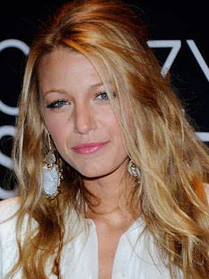Blake Lively Gold Dangle Earrings