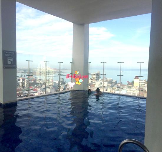 View dari Hotel Aston Makassar