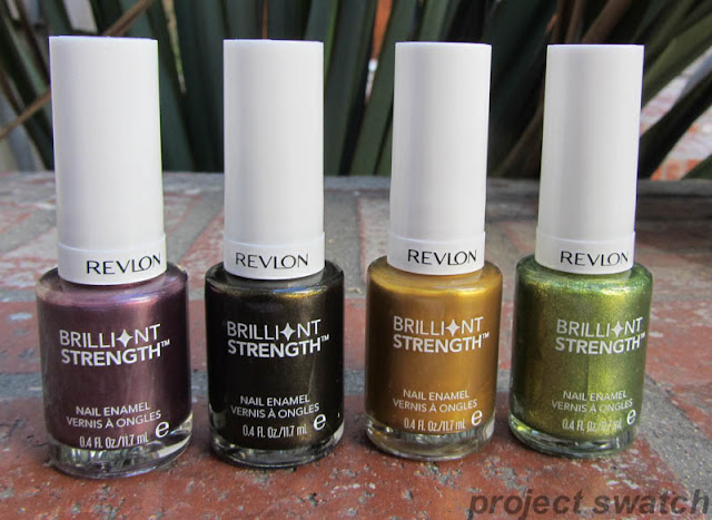 Revlon Brilliant Strength Enthrall, Enrapture, Hypnotize, Tantalize