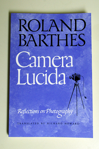 Roland barthes camera lucida summer i 2012 intro to for Chambre claire roland barthes