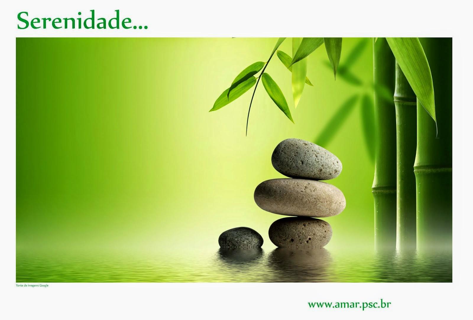 Serenidade, seja bem-vinda!