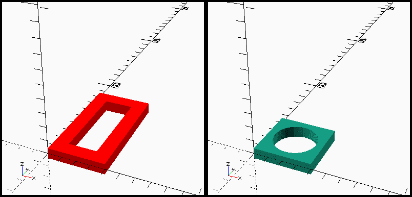 Sudden vector projection model