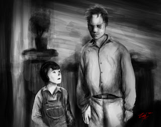 Boo Radley Scout Art To kill a mockingbird