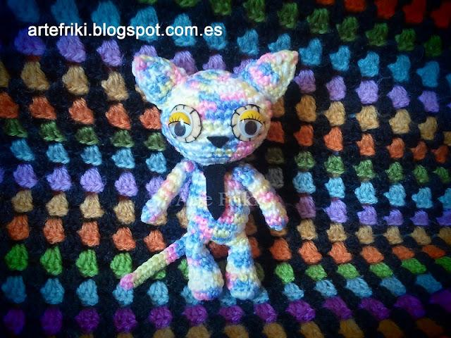 gato amigurumi cat kitty crochet ganchillo