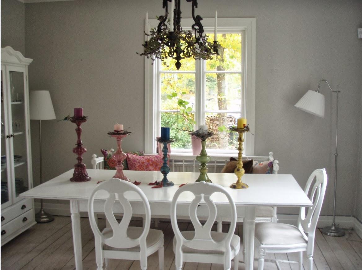 My bohemic home: höst i matrummet