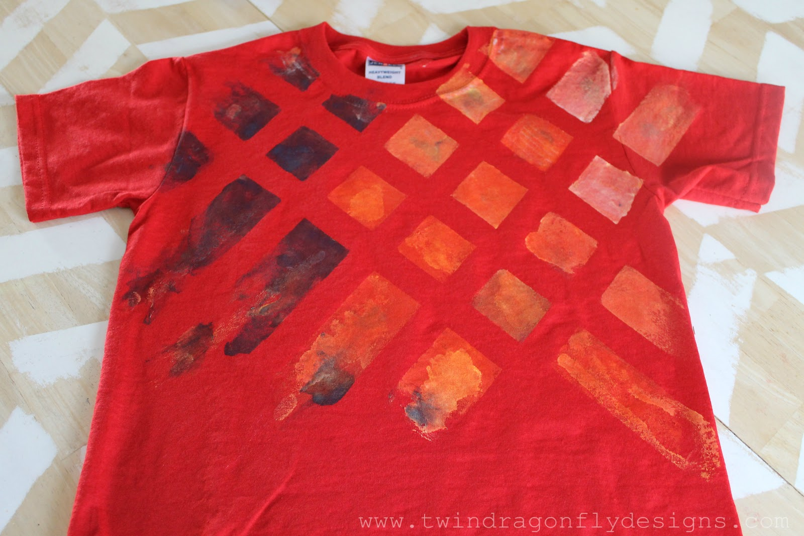 Simple painted t shirts dragonfly designs for How to paint on t shirt