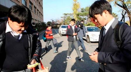 The smartphone of addictive in Korea
