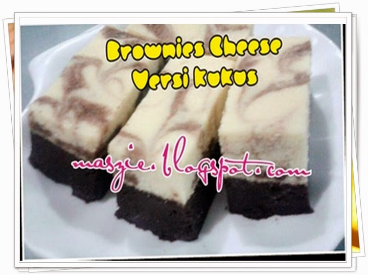 Brownies Cheese Versi Kukus MZ