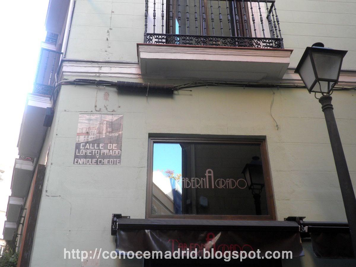 Conocer madrid octubre 2013 for Calle loreto prado y enrique chicote 13