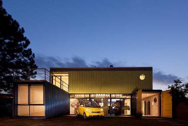Blog da roca im veis casas containers for Casas de container modernas