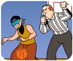Game tập ném bóng rổ
