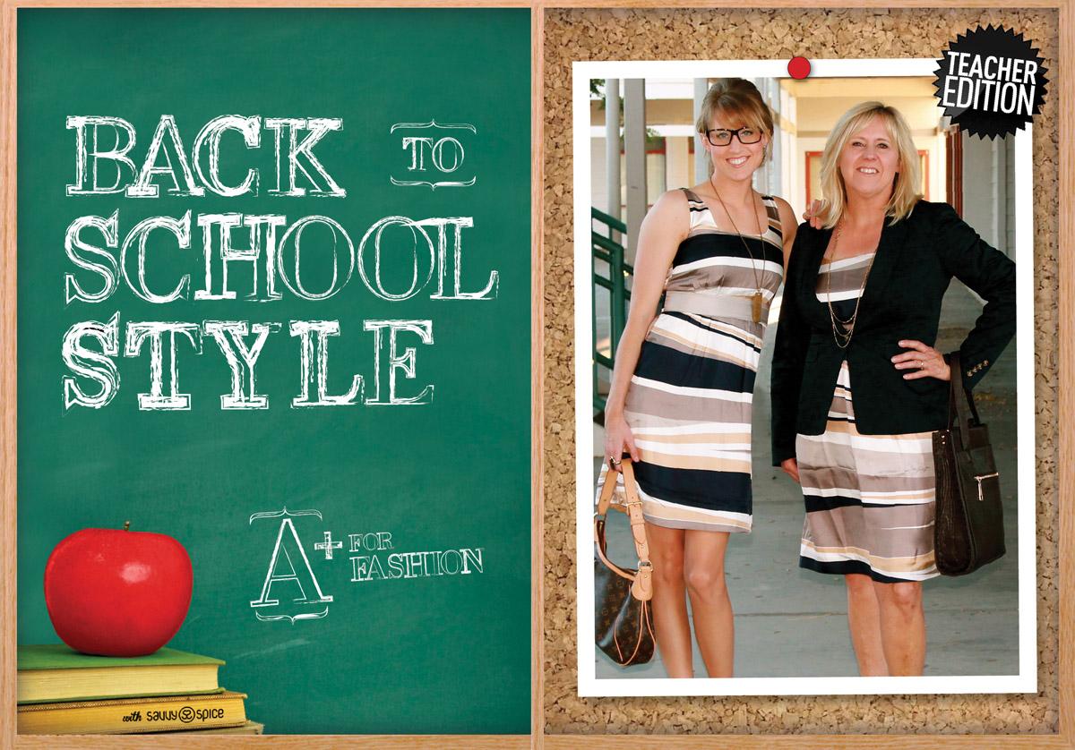 Back To School Fashion Twin Teacher Edition Savvy Spice