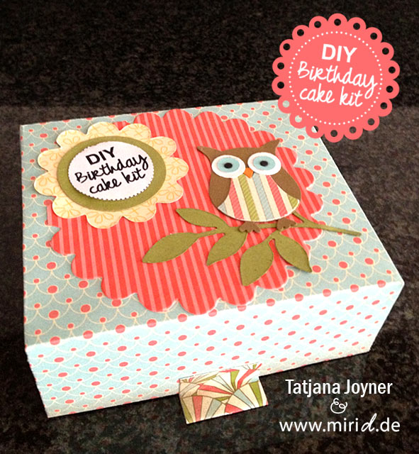 www.miriD.de: DIY Birthday cake kit