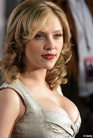Hot Scarlett Johansson Body