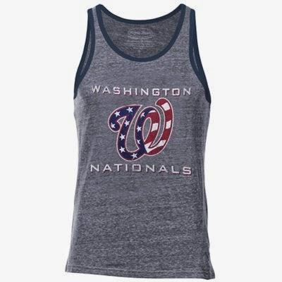 Washington Nationals MLB Stars & Stripes Tank Top
