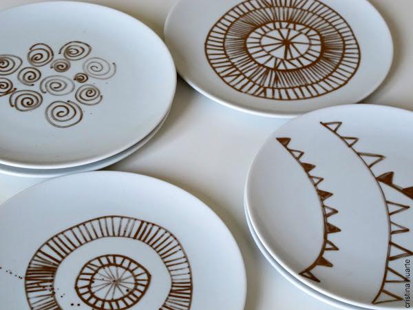 Ceramica platos decorar tu casa es - Platos ceramica colores ...
