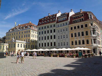 Plaza Neumarkt de Dresde