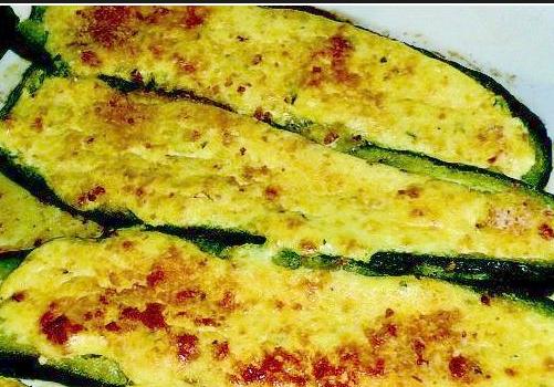 bimby, zucchine ripiene vegetariane