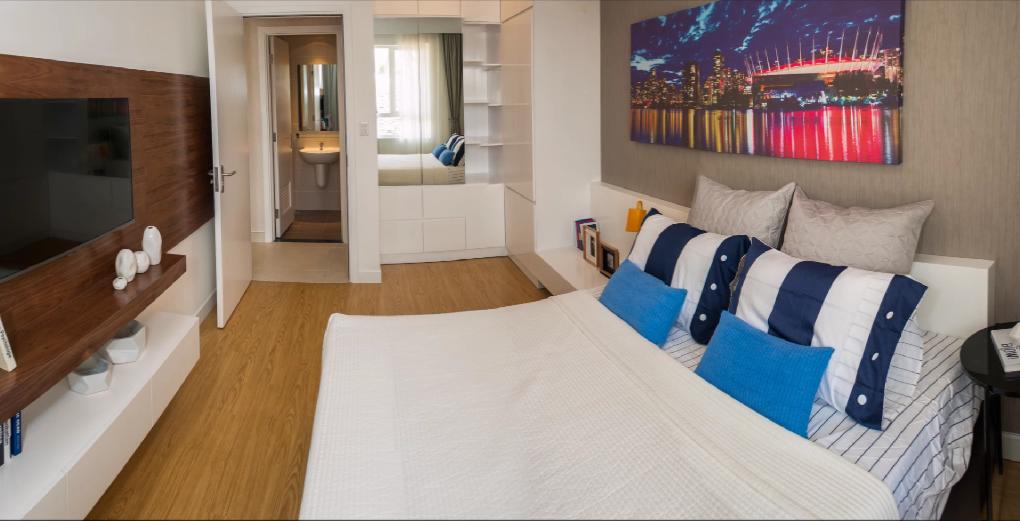 Căn hộ mẫu Masteri Thảo Điền 1 phòng ngủ