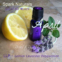 April - LLP (Lemon Lavender Peppermint)