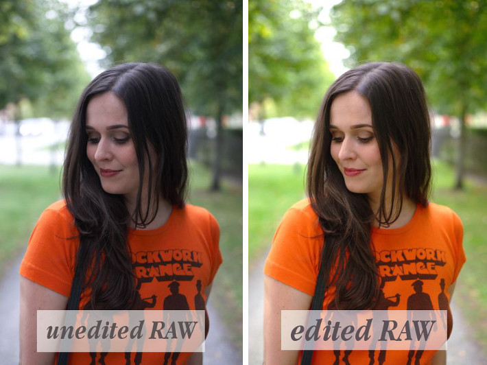 The difference between JPEG and RAW photography