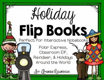 http://www.teacherspayteachers.com/Product/Holiday-Flip-Books-1585871