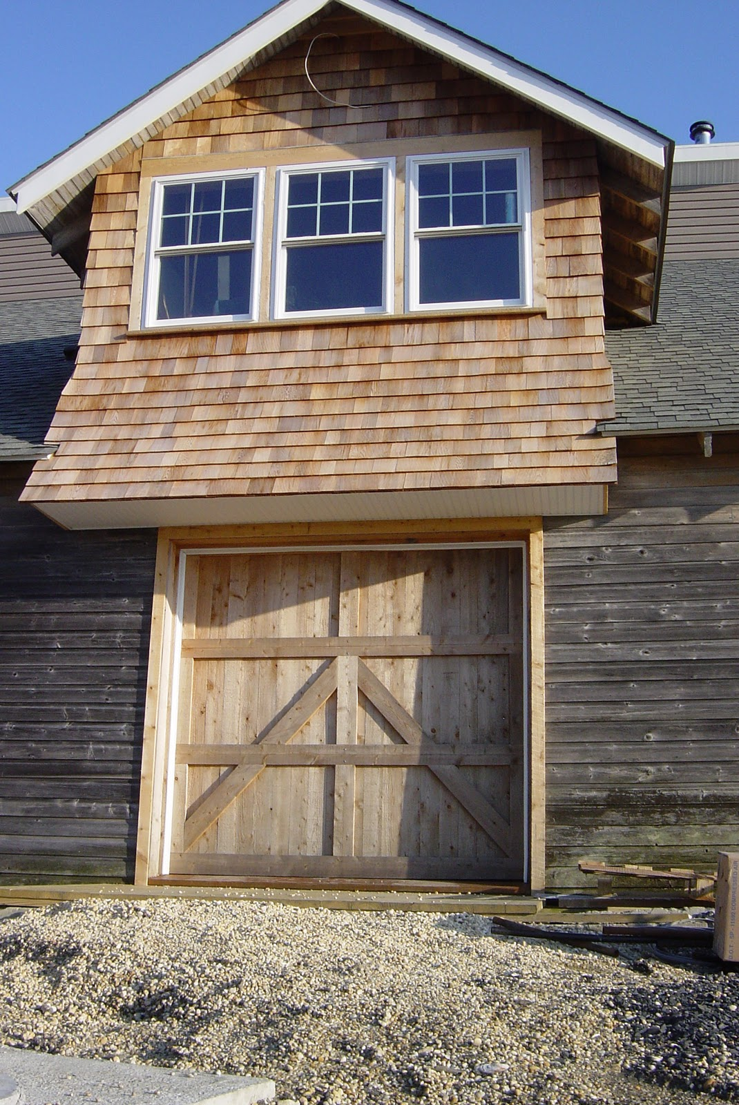 Siding to shaker the reno projects for Shaker house plans